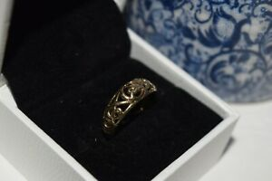 9ct Yellow Gold Celtic Band