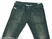 BNWT Diesel poiak 8D4 Stretch Jeans 31X32 auténticos Regular Slim Fit pierna taperer