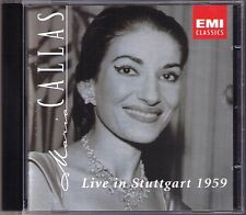 Maria CALLAS Live in Stuttgart 1959 Spontini Verdi Bellini Rossini RESCIGNO CD