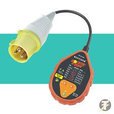 Socket & See sok50/16 HD 110v INDUSTRIAL Tester de enchufes