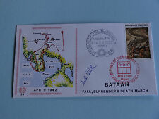 WWII FDC #39 Surrender of Bataan Death March Japan Manila P.I * 50th Anniversary
