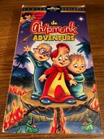 The Chipmunk Adventure VHS VCR Video Tape Movie Used Cartoon RARE
