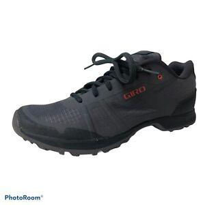 GIRO Women's Gauge Titanium/Shadow Cycling Bike Shoes Size 42/10 Hardly Worn!