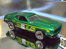 Hot Wheels Real Riders Custom '71 FORD MUSTANG MACH 1 - FORD PERFORMANCE SERIES.