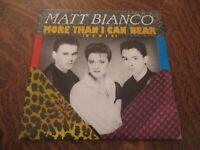 45 tours MATT BIANCO more than i can bear (remix)