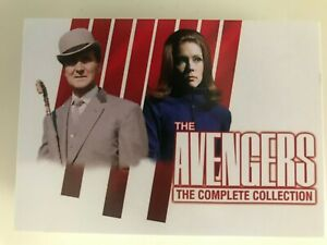 THE COMPLETE AVENGERS - SERIES 2 BASE SET - ALL 54 CARDS