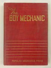 The Boy Mechanic - 1940 Popular Mechanics Press Vintage Hardcover Book