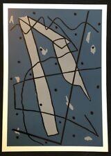 Pidder Auberger, Ohne Titel, Holzdruck, 1990, handsigniert und datiert