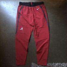 NWT Men's Nike Sportswear Alabama Crimson Tide Flex Practice Training Pants Sz L