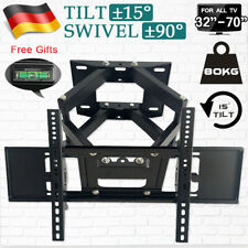 TV Wandhalterung Halterung 32 40 42 46 48 50 55 60 65 70 Zoll Neigbar bis 80kg