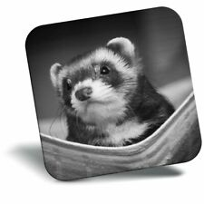 Awesome Fridge Magnet bw - Ferret Hammock Pet Rodent Animal #37246