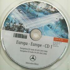 Mercedes Navigation CD Audio 50 APS 2008 -CD1 SCANDINAVIA / GB / IRL orange NTG2