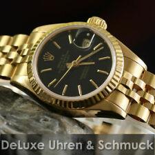 🎀 * Rolex Datejust * ref. 69178*750er oro * esfera negra * Rolex box * Top