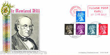 1990 Penny Black (Stamps) - Bradbury Official - Please Post Early Slogan