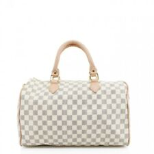 d20641ea81 Checkered Print Ladies Duffle Hand Bags Beige Grey Brown Shoulder Cross Body