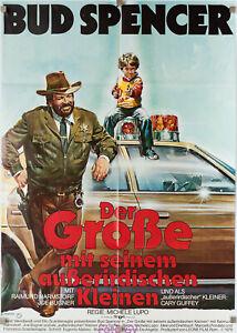 Filmplakat Grosse mit seinem ausserirdischen Kleinen 1979 Bud Spencer Casaro-Art