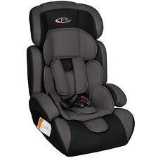 Siège Auto Enfant Siège Bébé SAFECITY gris noir Groupe I 2 3 ECE 44/04 9-36 kg