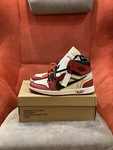 Jordan retro 1 High Off-White Chicago Size 10