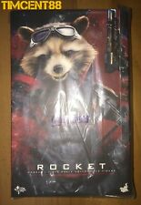 Ready! Hot Toys MMS548 Avengers: Endgame 1/6 Rocket New