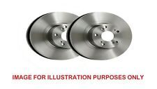BMW E46 2000-2006 FRONT Brake Discs Right & Left Pair New 300MM Vented