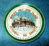 "WORLD'S ONLY CORN PALACE, A VINTAGE 5 3/8"" plate, MITCHELL, SO DAKOTA"