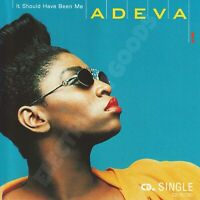 ADEVA IT SHOULD HAVE BEEN ME CD SINGLE US 1991 CAPITOL RECORDS C2-15730