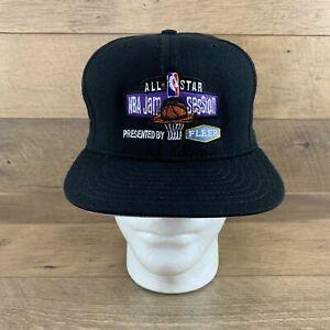 NBA All Star Jam Session 90s Basketball Cap Snapback Hat New Era Deadstock