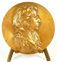 Medal Frédéric Chopin Composer Pianist Fryderyk David 68mm Composer Medal