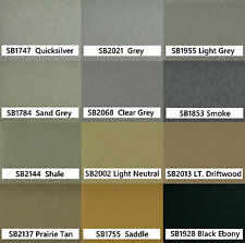 96-00 Honda Civic Headliner Fabric Ceiling Repair Kit extra for visors + shade