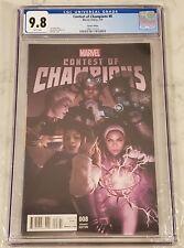 Contest of Champions #8 Rahzzah Variant CGC 9.8 Blue Marvel America Chavez