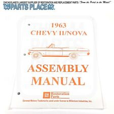 1963-63 Chevrolet Nova / Chevy II Assembly Manual - Each