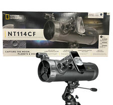🎄 NATIONAL GEOGRAPHIC NT114CF 114MM CARBON FIBER REFLECTOR TELESCOPE 🎄