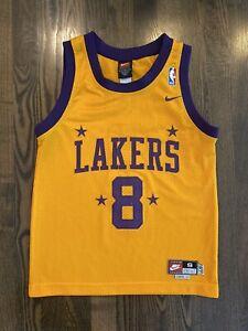 Vintage Nike KOBE BRYANT #8 Los Angeles LA Lakers Jersey Youth Small (6-8)
