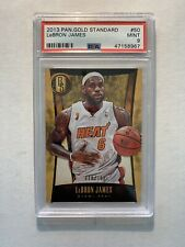 2013-14 Panini Gold Standard Lebron James Finals #50 /199 PSA 9 Mint Miami Heat