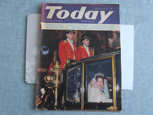 Today Magazine May 14th 1960 - featuring The Royal Wedding & Alistair Maclean