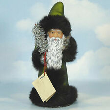 Ino Schaller Bayern Father Candy Container Christmas Santa German Papier Mache