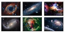 ZEIT4BILD Weltall Universum Space Kosmos HUBBLE 6 BILD 40x30cm LEINWAND BILDER