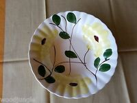 Vintage   BLUE RIDGE SOUTHERN POTTERIES YELLOW FLOWERS VEGETABLE BOWL NOCTURNE