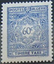ALGERIE Taxe 36  - Neuf**  charniere