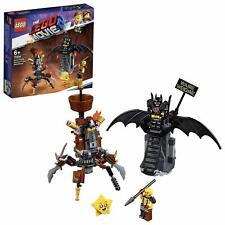 LEGO 70836 The Lego Movie 2 Battle Ready Batman And MetalBeard Crab Mech Toy Set