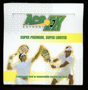 2011 Ace Authentic EX Tennis Sealed Unopened Hobby Box