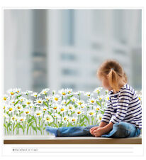 Flowers Grass Wall Stickers Daisy Weed Stickers Living Room Bedroom Decoration