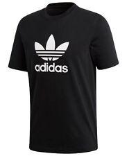 Adidas Men's Originals Trefoil T-Shirt Tee Crew Neck Cotton Black Size 2XL NEW!