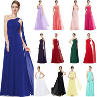 Ever-Pretty Bridesmaid Dresses Chiffon Ribbon Long Formal Cocktail Party Dress