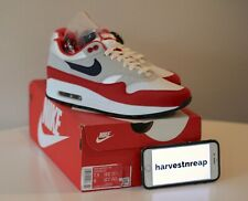 NIKE AIR MAX 1 QS JULY 4TH SIZE 7.5 BANNED BY NIKE BETSY ROSS FLAG - SNEAKER CON