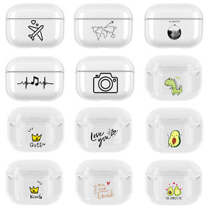 For Apple AirPods Pro 3 Charging Case Pattern Earphone Cover Case Protector