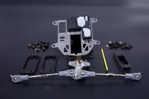 Aluminum Symmetrical Push-Pull Steering Kit 85273 for HPI KM ROVAN BAJA 5b
