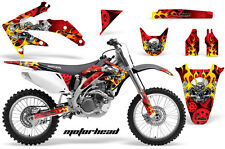 Honda Graphic Kit AMR Racing Bike Decal CRF 450R Decal MX Parts 05-08 MOTORHEAD