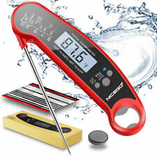 Instant Read Digital Meat Thermometer for Cooking BBQ Grilling
