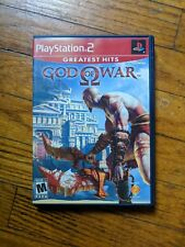 God Of War (Sony Playstation 2, PS2, 2005) with Manual